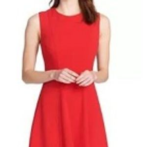 Tommy Hilfiger Size 4 Fit and Flare Red Dress